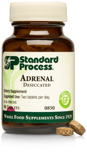 0850 Adrenal Desiccated Bottle Tablet