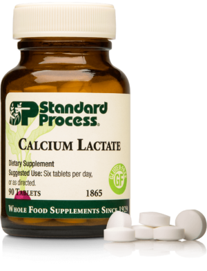 1865 Calcium Lactate Bottle Tablet