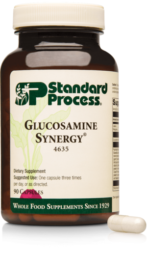 4635 Glucosamine Synergy Bottle Capsule