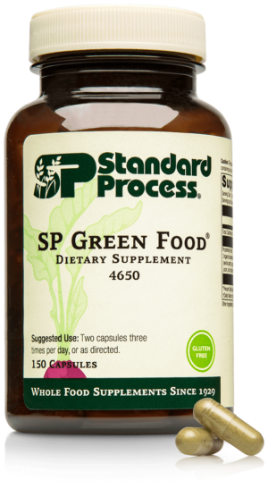 4650 SP Green Food Bottle Capsule