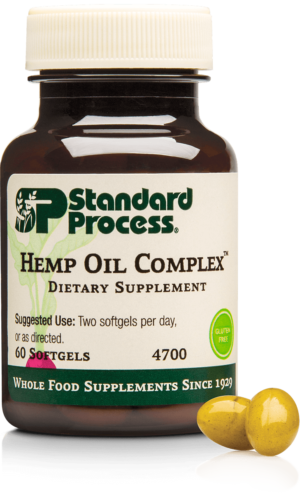 4700 Hemp Oil Complex Bottle Softgel