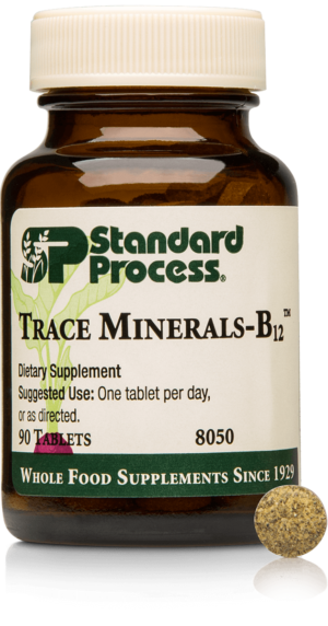 8050 Trace Minerals B12 Bottle Tablet