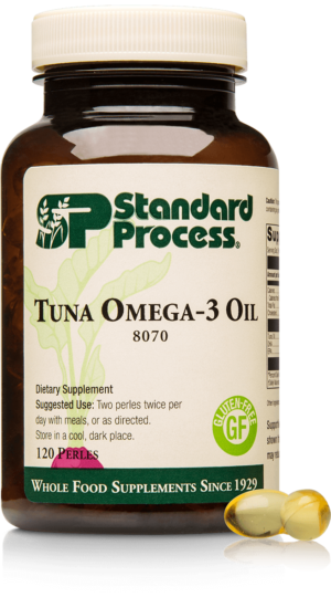 8070 Tuna Omega 3 Oil Bottle Tablet