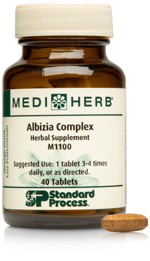 M1100 Albizia Complex Bottle Tablet