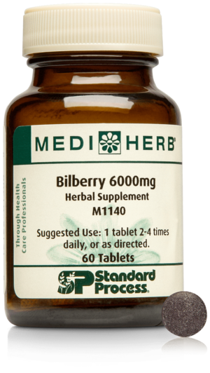 M1140 Bilberry 6000mg Bottle Tablet