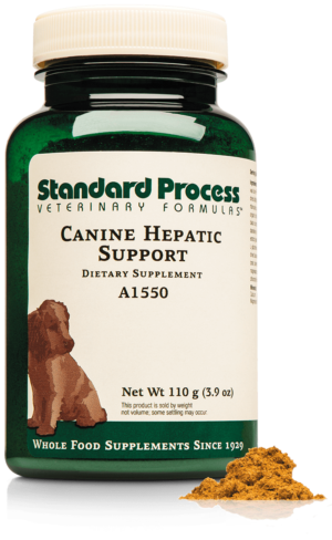 A1550 Canine Hepatic Support Bottle Powder