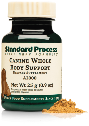 A2000 Canine Whole Body Support Bottle Powder